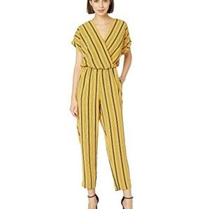 Gold and black striped jumpsuit
